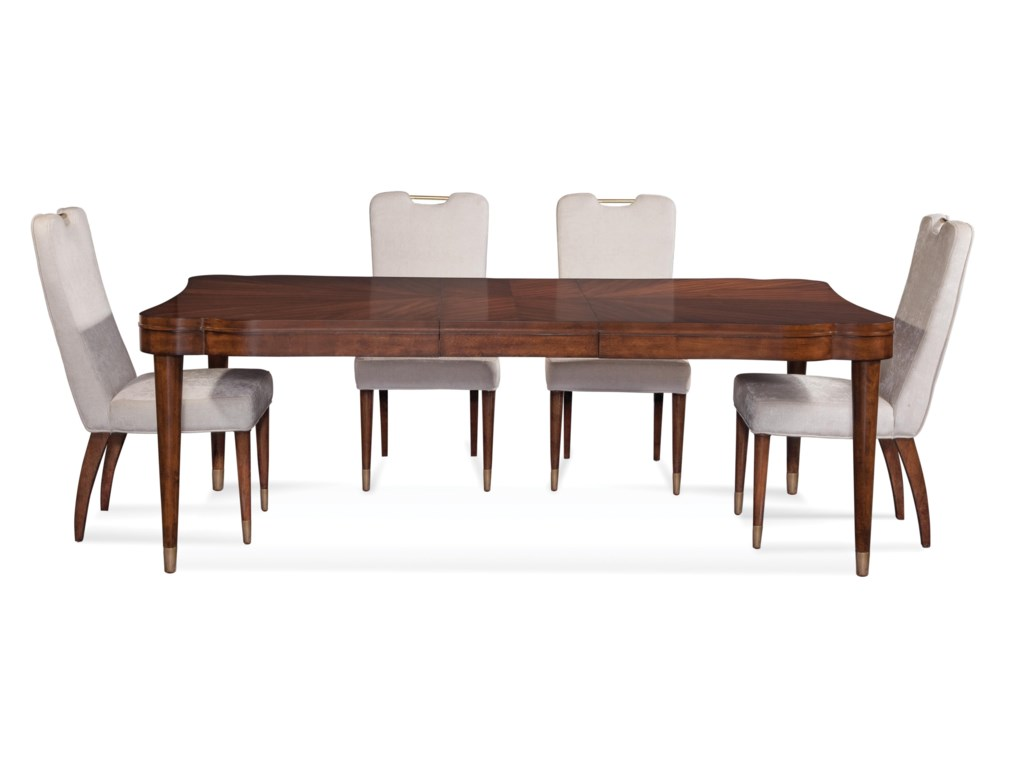 Bassett Mirror Thoroughly ModernDarrien Casual Dining Set