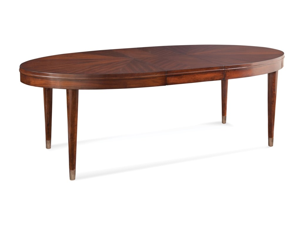 Bassett Mirror Thoroughly ModernDarrien Oval Dining Table