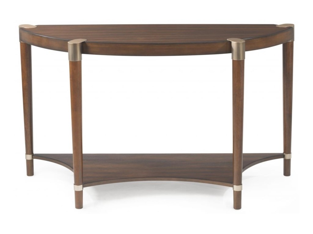 Bassett Mirror Thoroughly ModernCole Demilume Console Table
