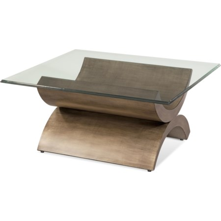 Symmetry Square Cocktail Table