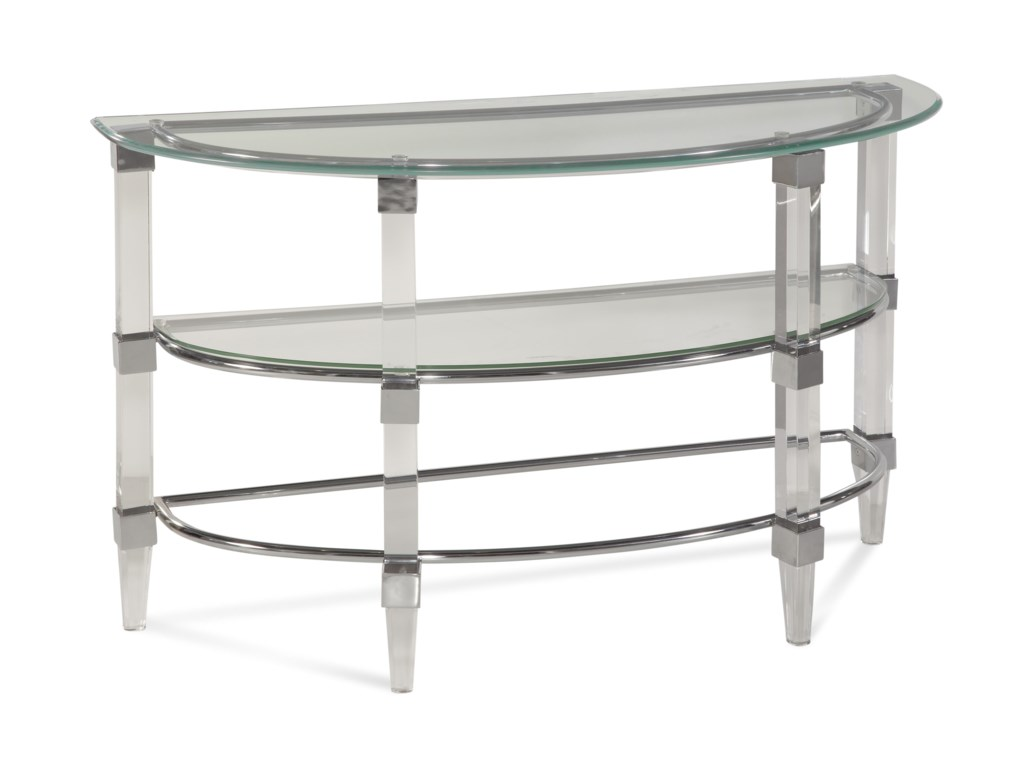Bassett Mirror Thoroughly ModernCristal Console