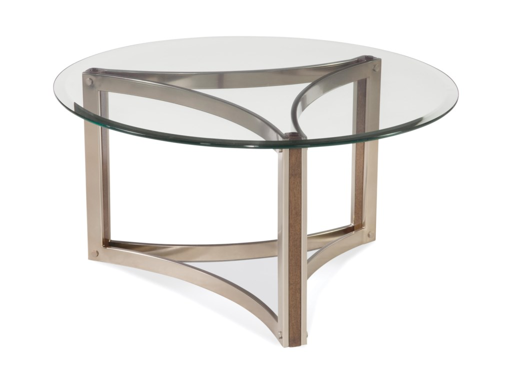 Bassett Mirror Thoroughly ModernCornell Round Cocktail Table