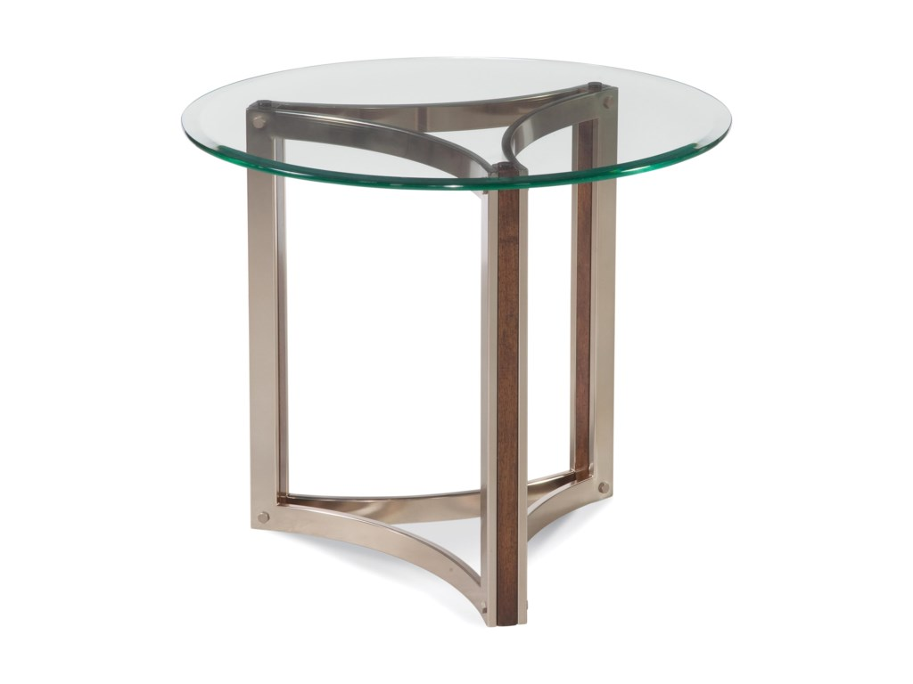 Bassett Mirror Thoroughly ModernCornell Round End Table