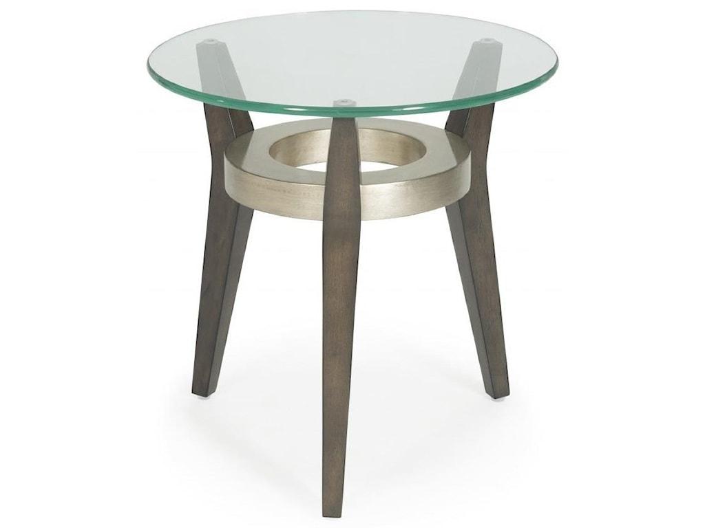 Bassett Mirror Thoroughly ModernElston Scatter Table