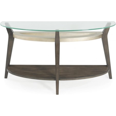Elston Demilune Console Table