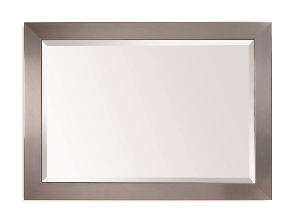 Bassett Mirror Thoroughly ModernStainless Wall Mirror