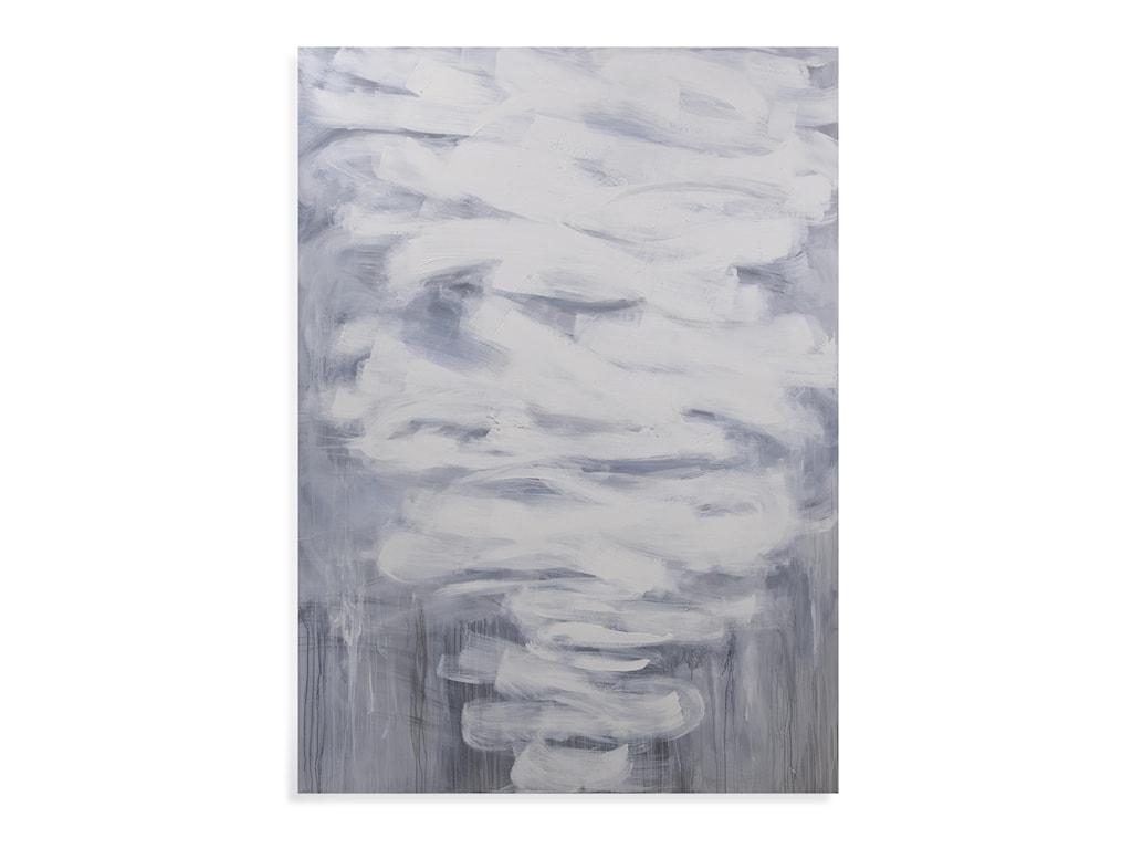 Bassett Mirror Thoroughly ModernGrey Skies