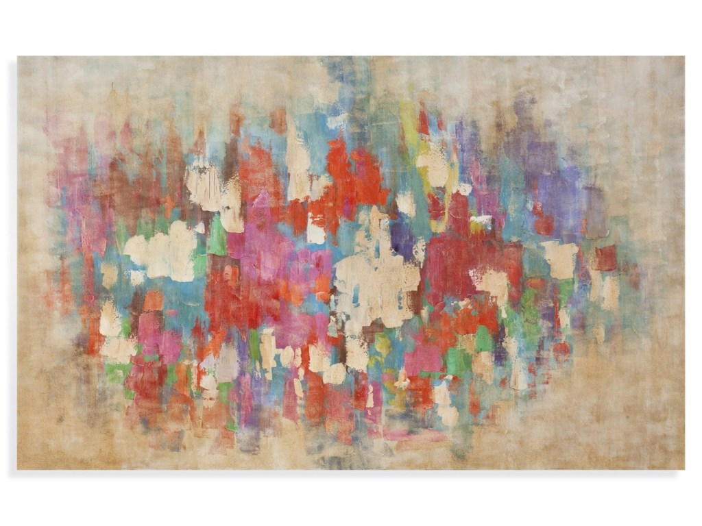 Bassett Mirror Thoroughly ModernColor Explosion Wall Art