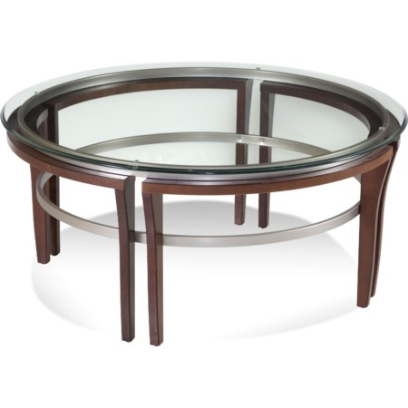 Fusion Round Cocktail Table