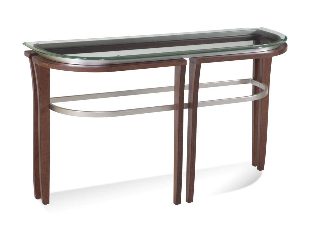 Bassett Mirror Thoroughly ModernFusion Console Table