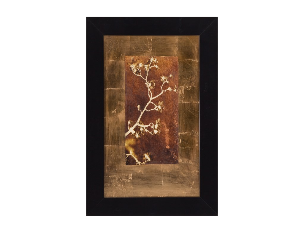 Bassett Mirror Thoroughly ModernGold Leaf Branches I