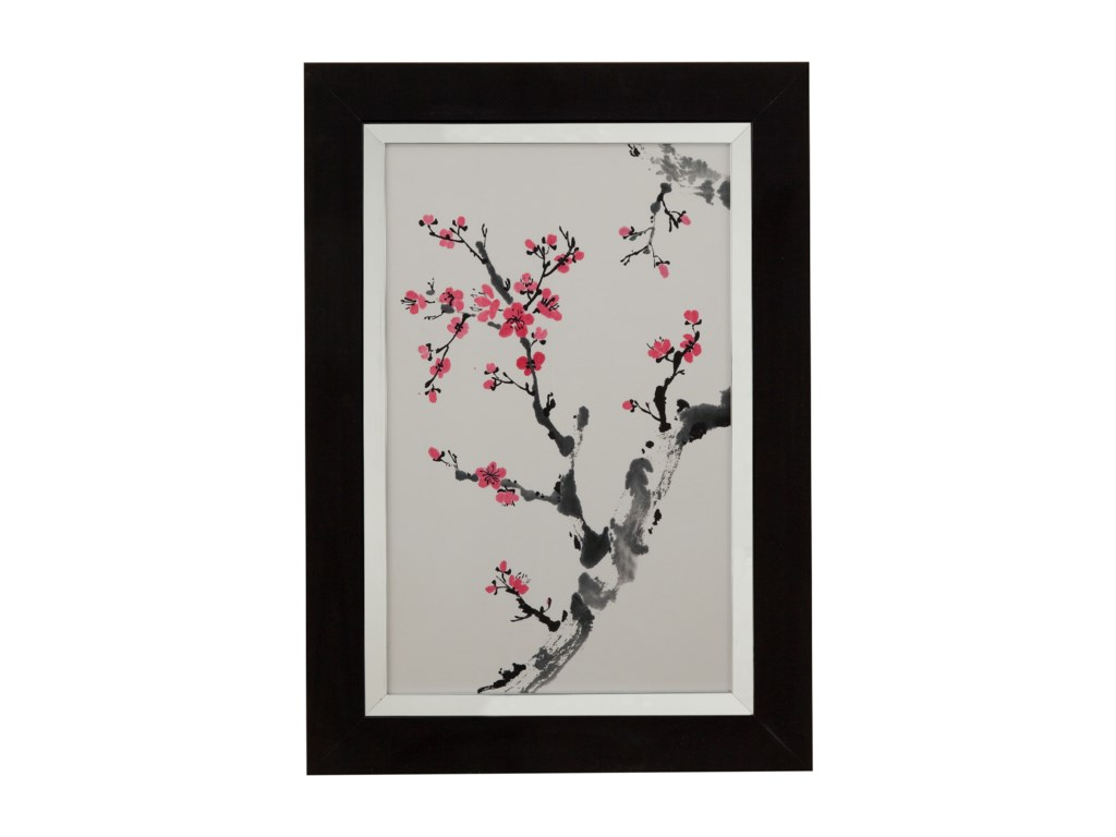 Bassett Mirror Thoroughly ModernPlum Blossom Branch II