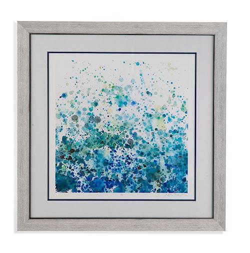 Bassett Mirror Thoroughly Modern Speckled Sea I