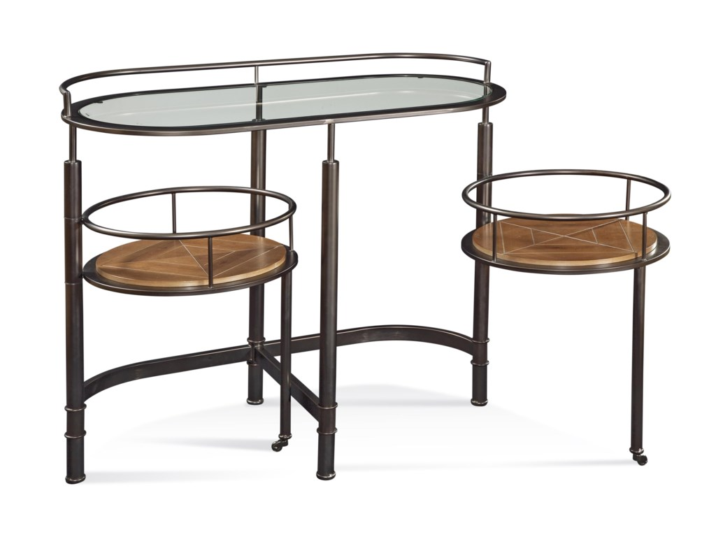 Bassett Mirror Thoroughly ModernBar Cart