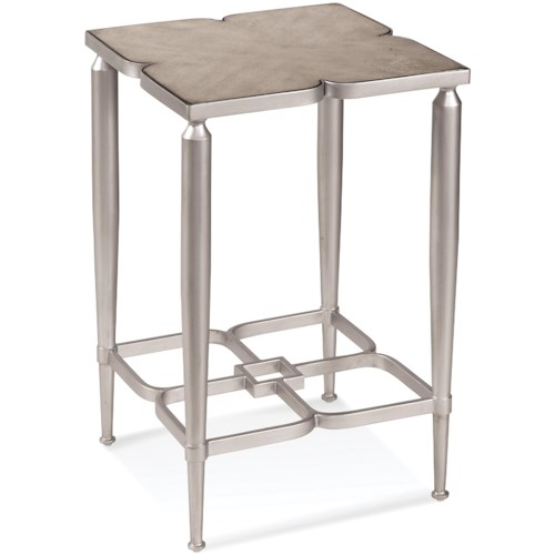 Bassett Mirror Thoroughly Modern Christie Accent Table
