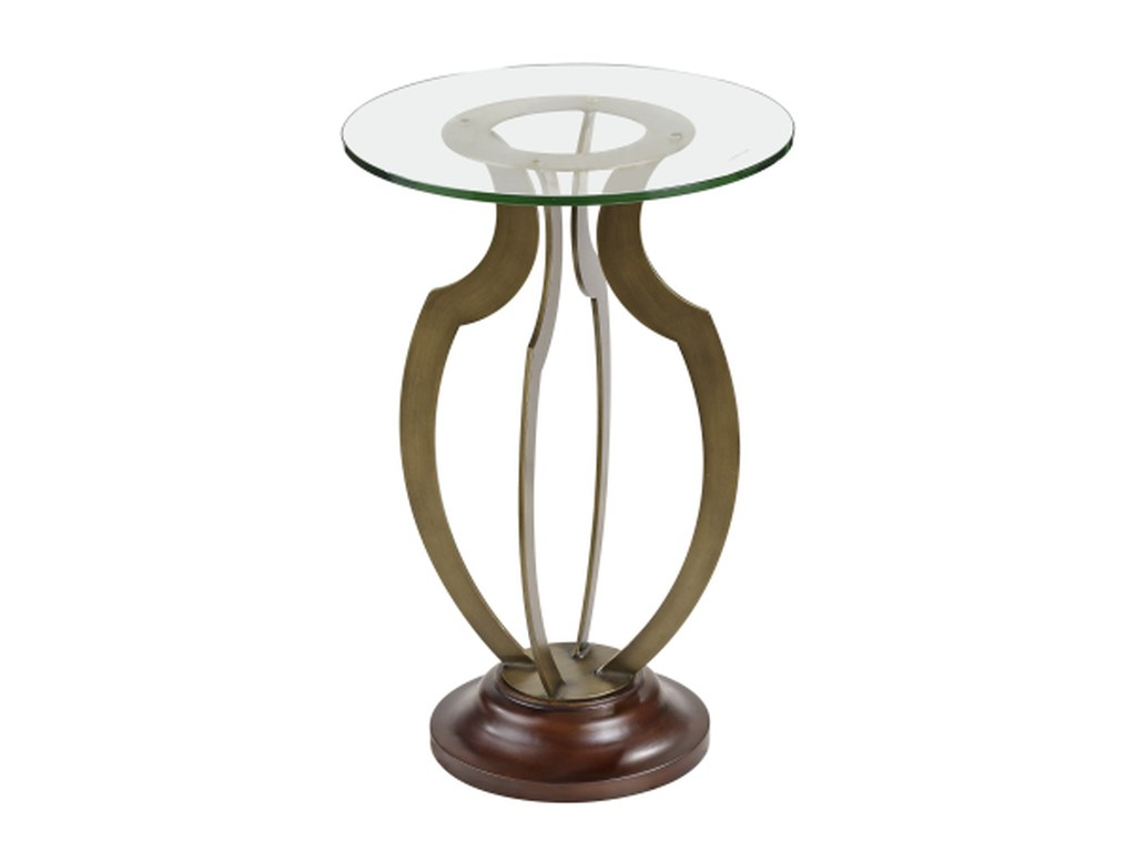 Bassett Mirror Thoroughly ModernKrier Round Accent Table