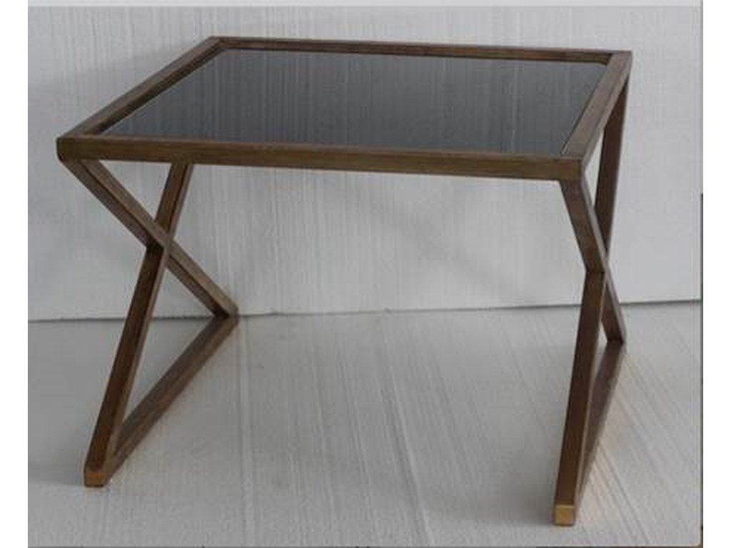 Bassett Mirror Thoroughly ModernLeone Side Table