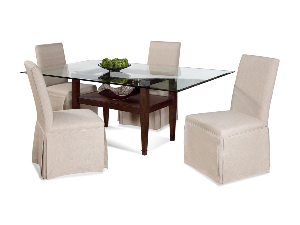 Bassett Mirror Thoroughly ModernDunhill Casual Dining Set