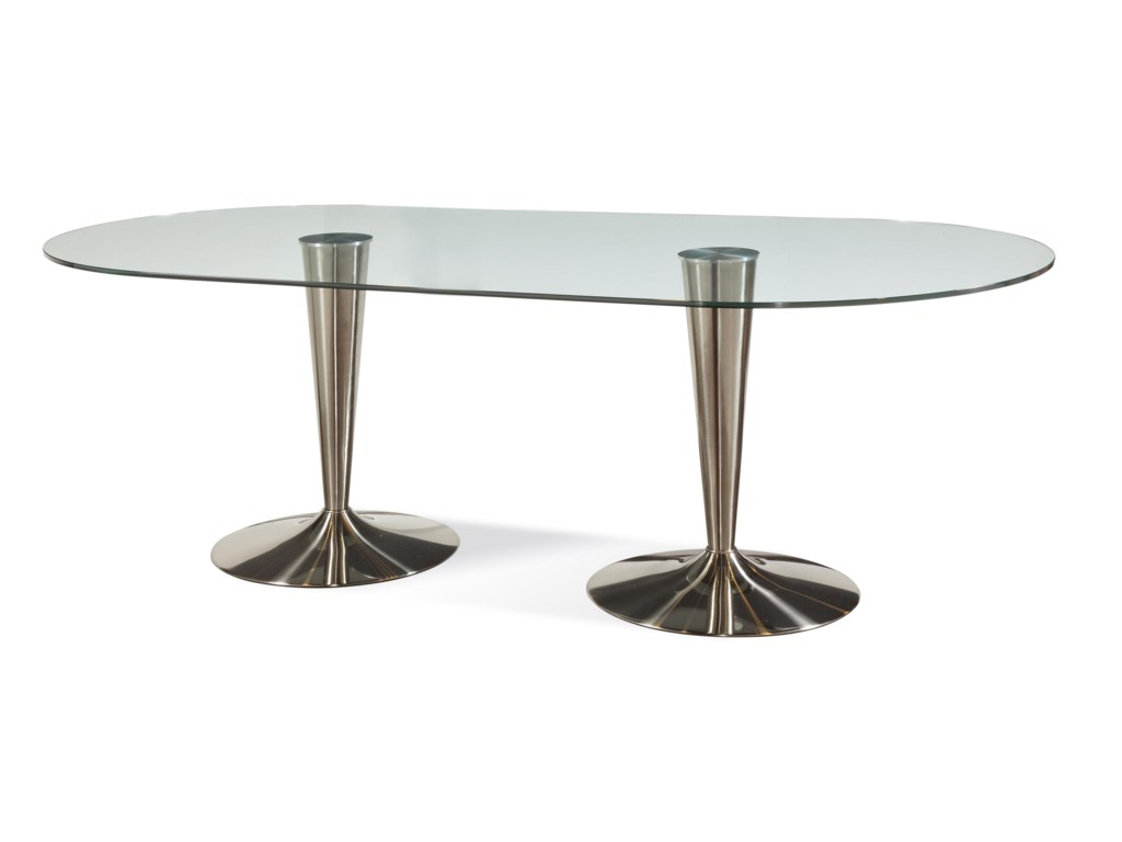 Bassett Mirror Thoroughly ModernConcorde Dining Table
