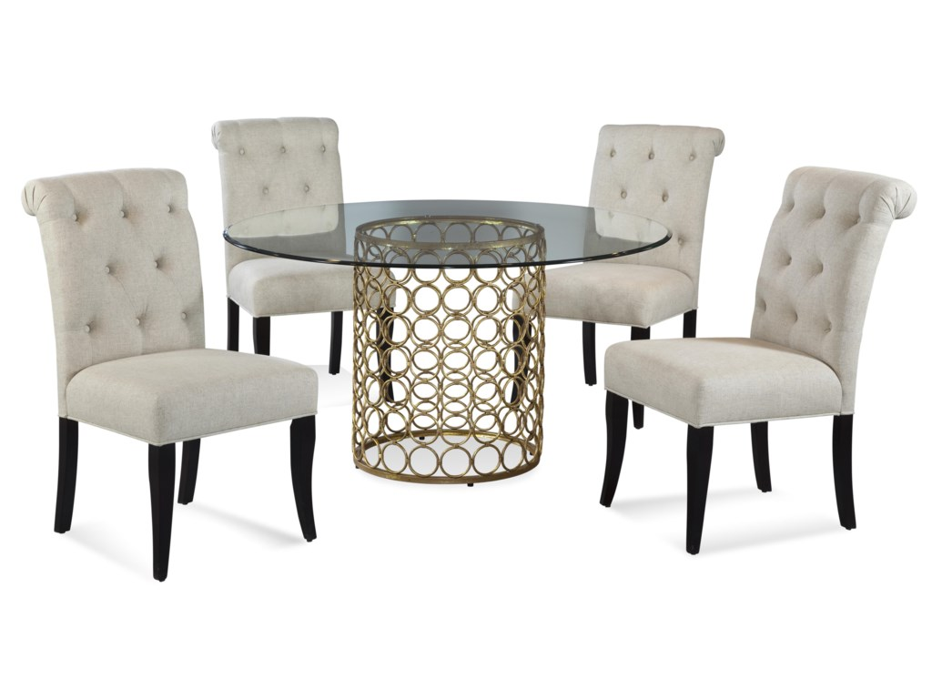 Bassett Mirror Thoroughly ModernCarnaby Casual Dining Set