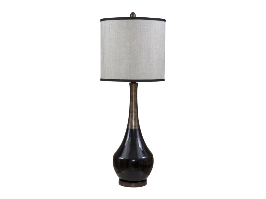 Bassett Mirror Thoroughly ModernBabson Table Lamp