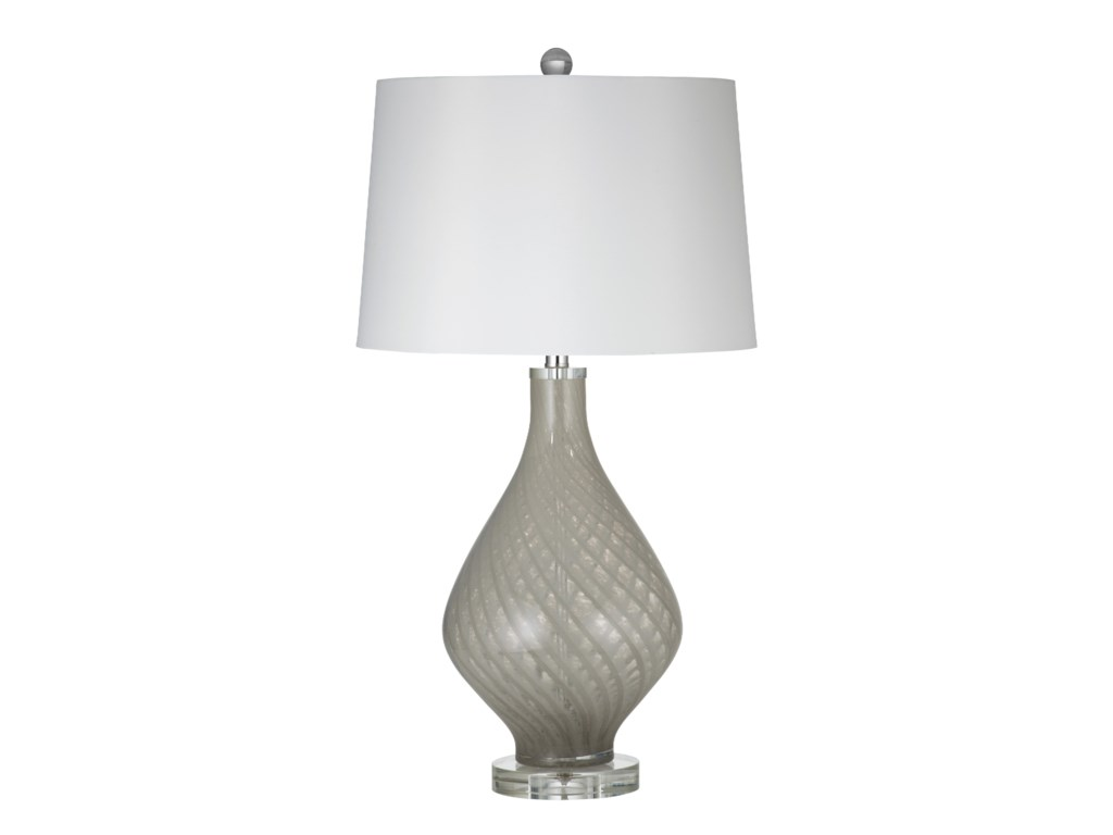 Bassett Mirror Thoroughly ModernClara Table Lamp