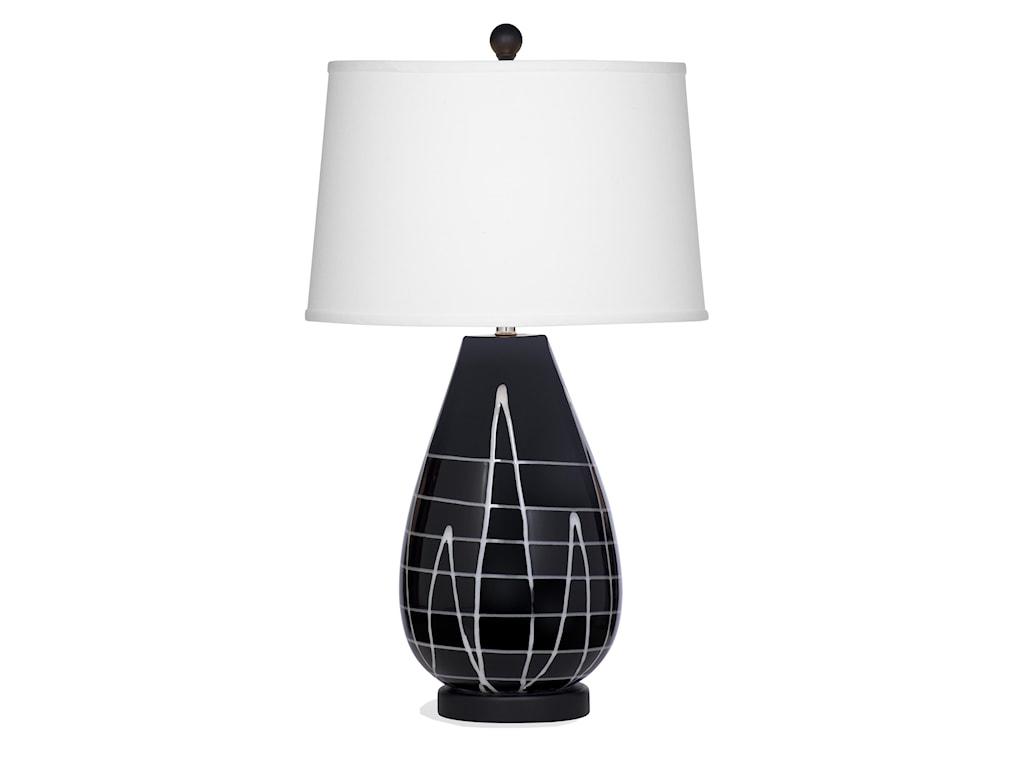 Bassett Mirror Thoroughly ModernAbigail Table Lamp