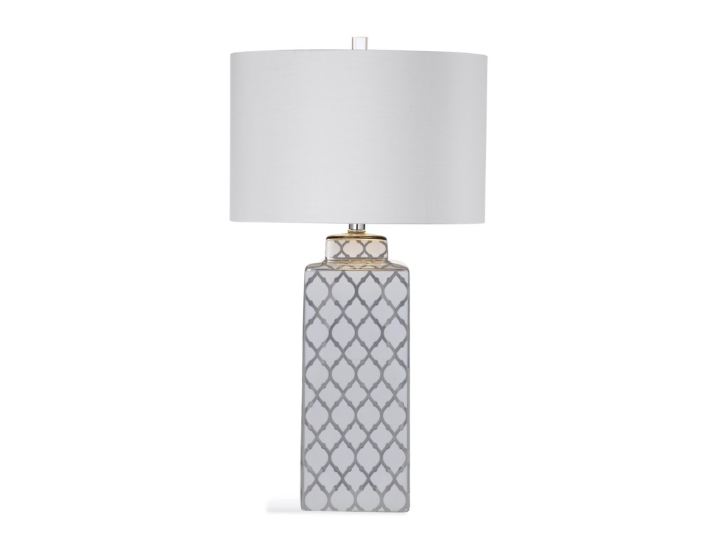 Bassett Mirror Thoroughly ModernVienna Table Lamp