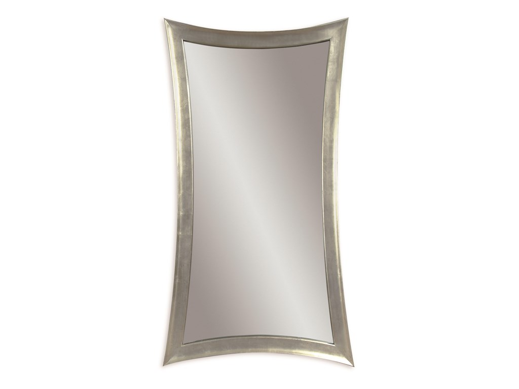 Bassett Mirror Thoroughly ModernHour-Glass Shaped Leaner