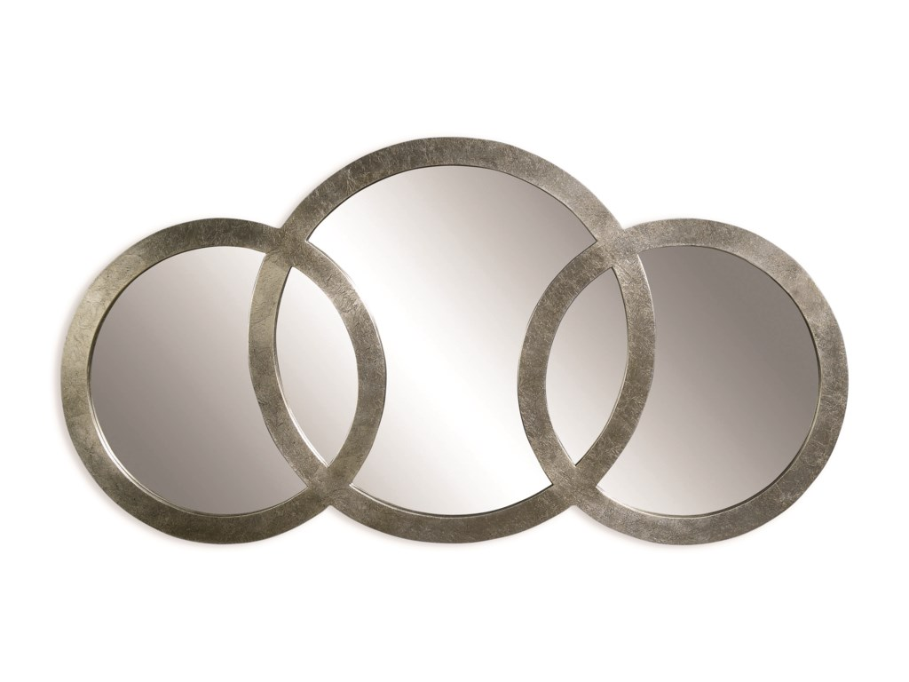 Bassett Mirror Thoroughly ModernLibra 3 Ring Mirror