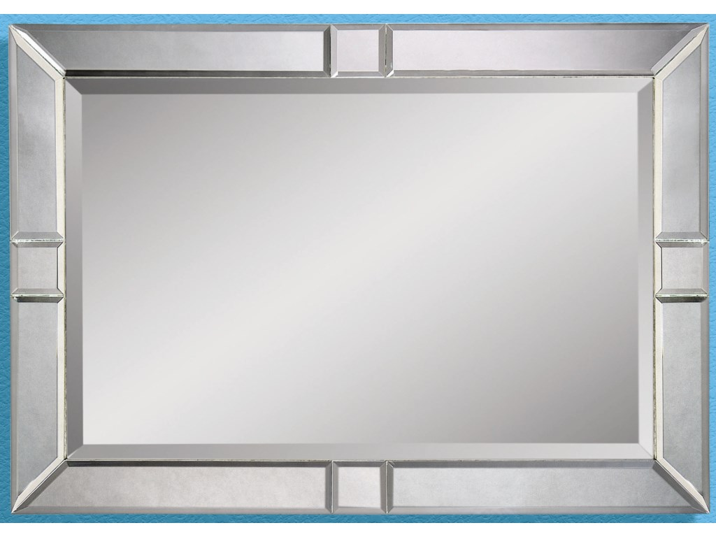 Bassett Mirror Thoroughly ModernBarbarella Wall Mirror