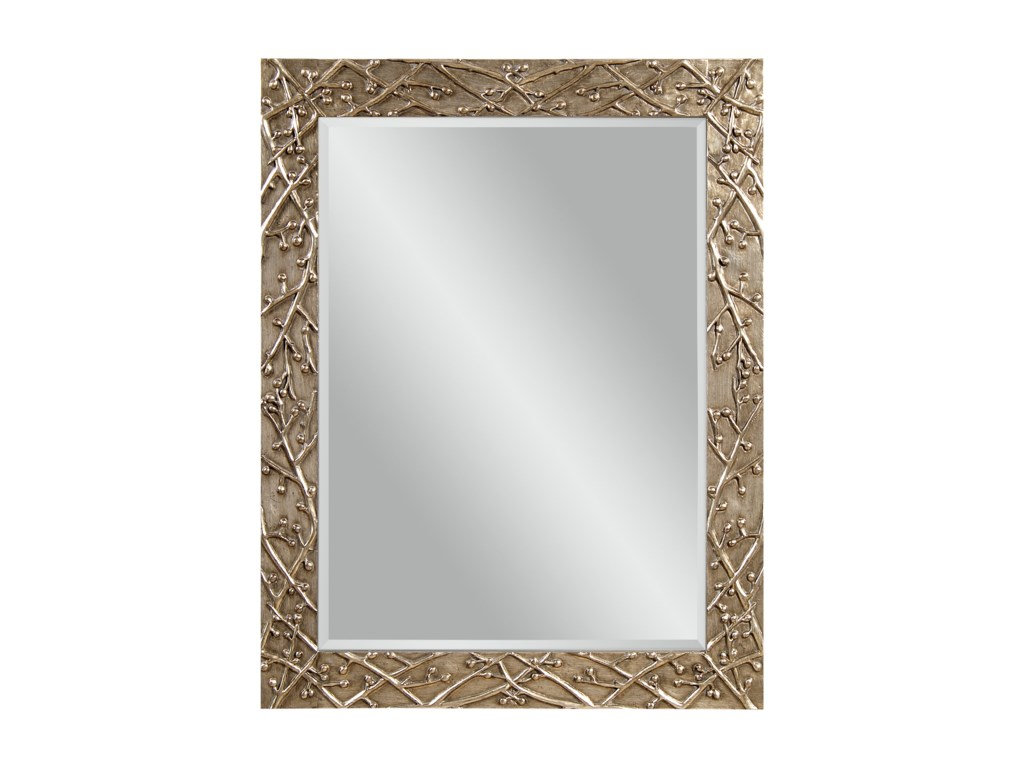 Bassett Mirror Thoroughly ModernPanache Wall Mirror