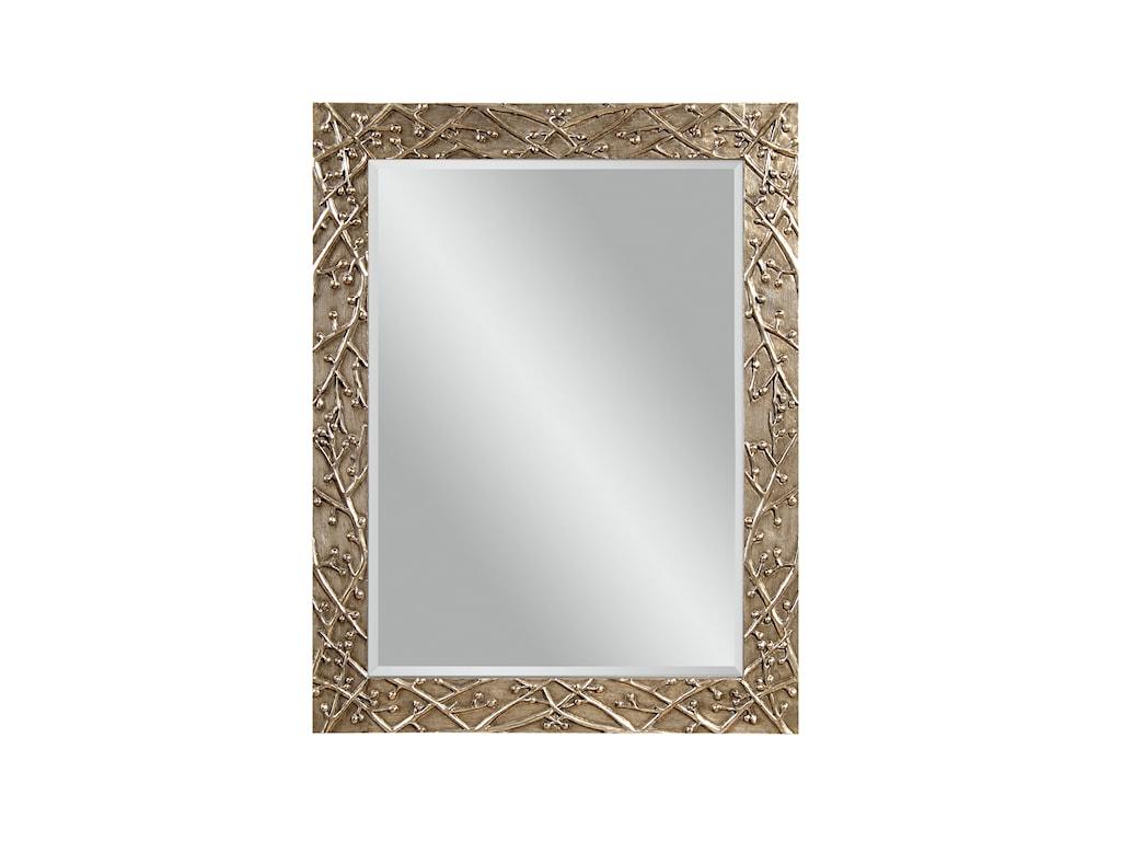 Bassett Mirror Thoroughly ModernPanache Wall Mirror
