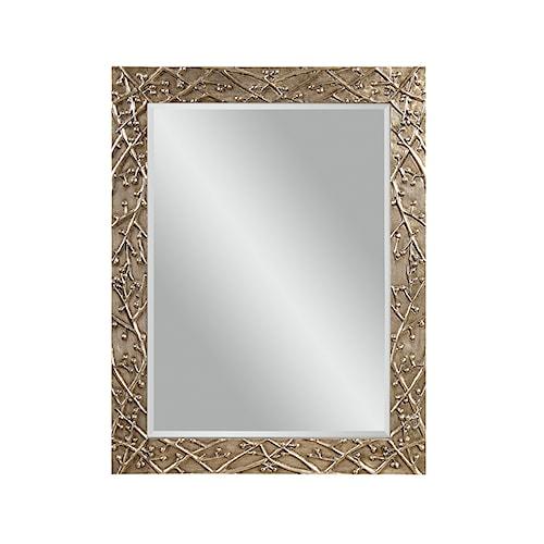 Bassett Mirror Thoroughly Modern Panache Wall Mirror