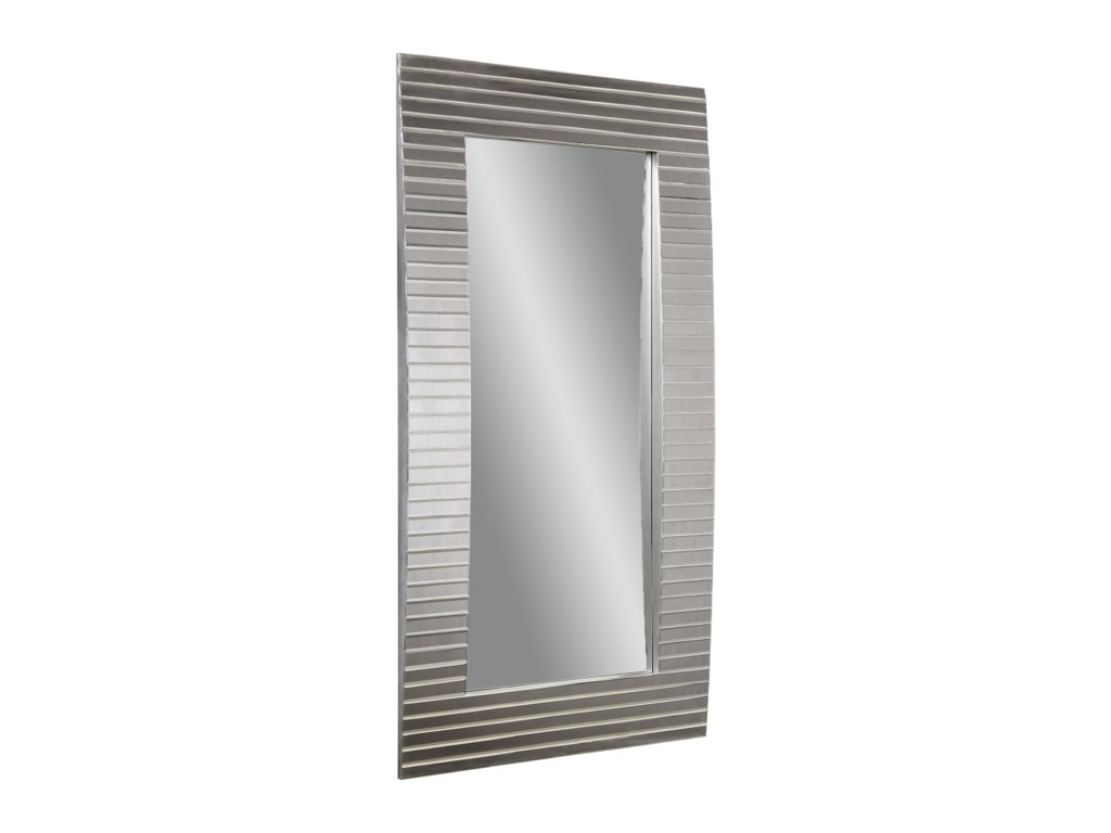 Bassett Mirror Thoroughly ModernTambour Leaner Mirror