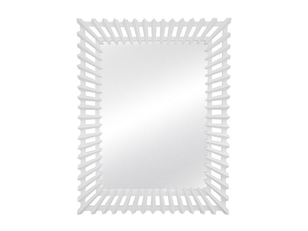Bassett Mirror Thoroughly ModernDelaney Wall Mirror