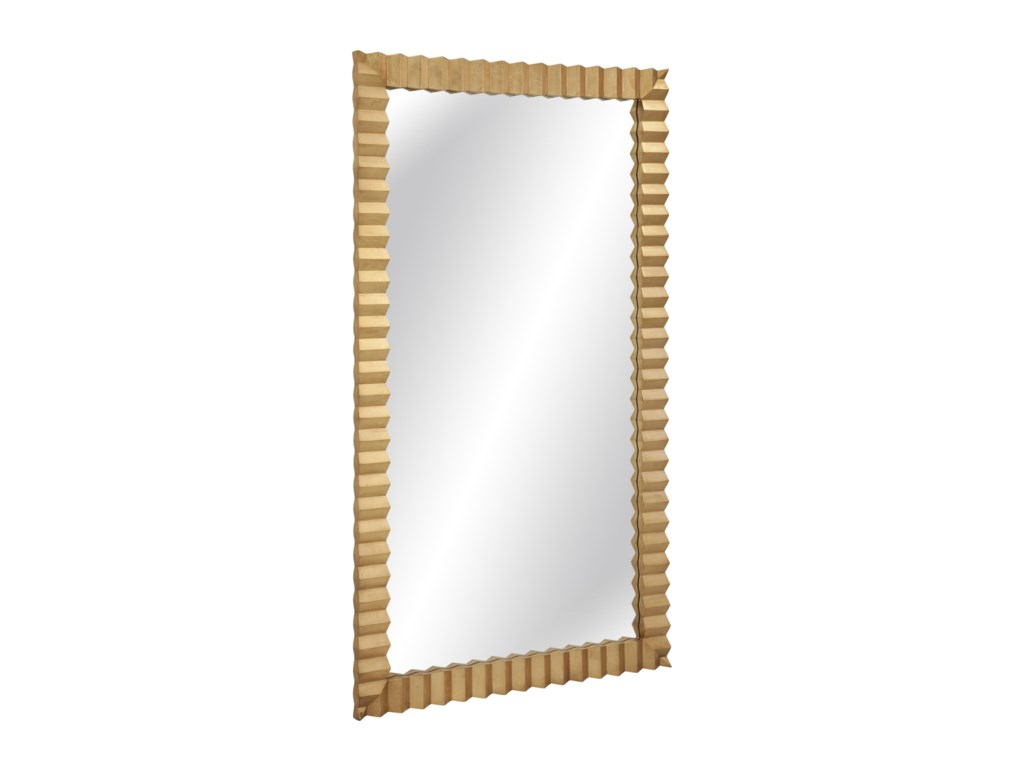 Bassett Mirror Thoroughly ModernLangston Leaner Mirror