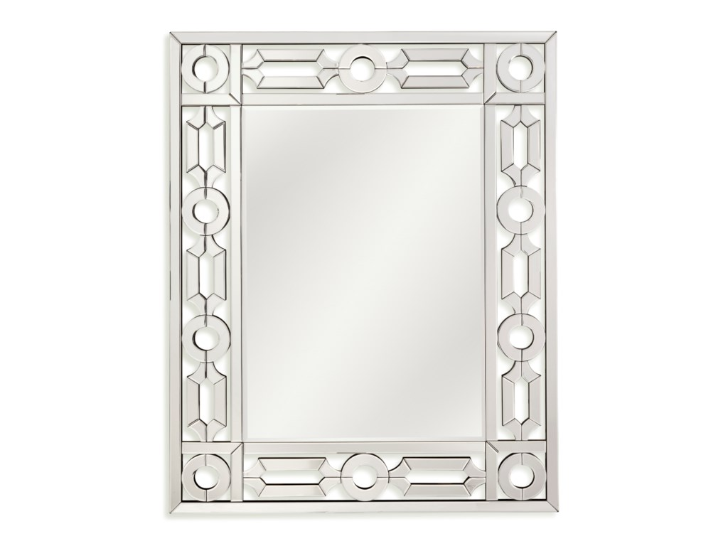 Bassett Mirror Thoroughly ModernPilar Wall Mirror