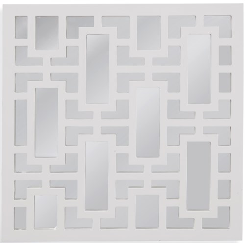 Bassett Mirror Thoroughly Modern Daphne Wall Mirror