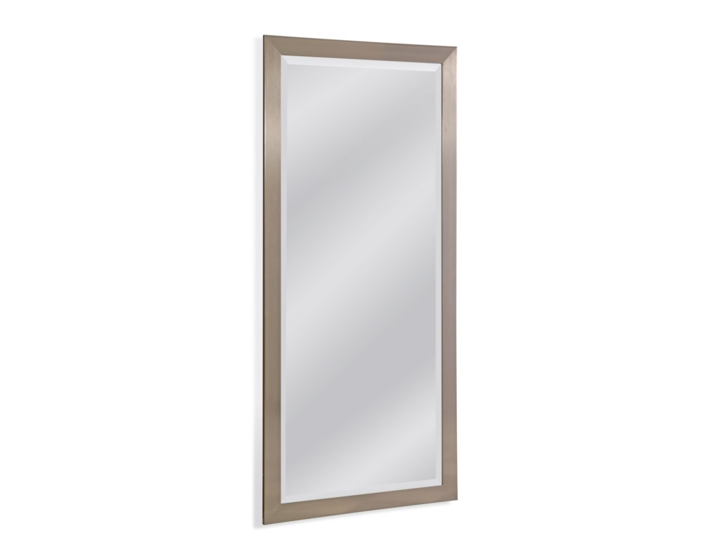 Bassett Mirror Thoroughly ModernStainless Leaner Mirror
