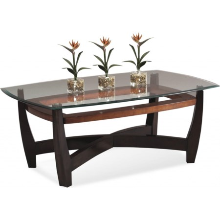Elation Rectangle Cocktail Table