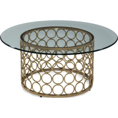 Carnaby Round Cocktail Table