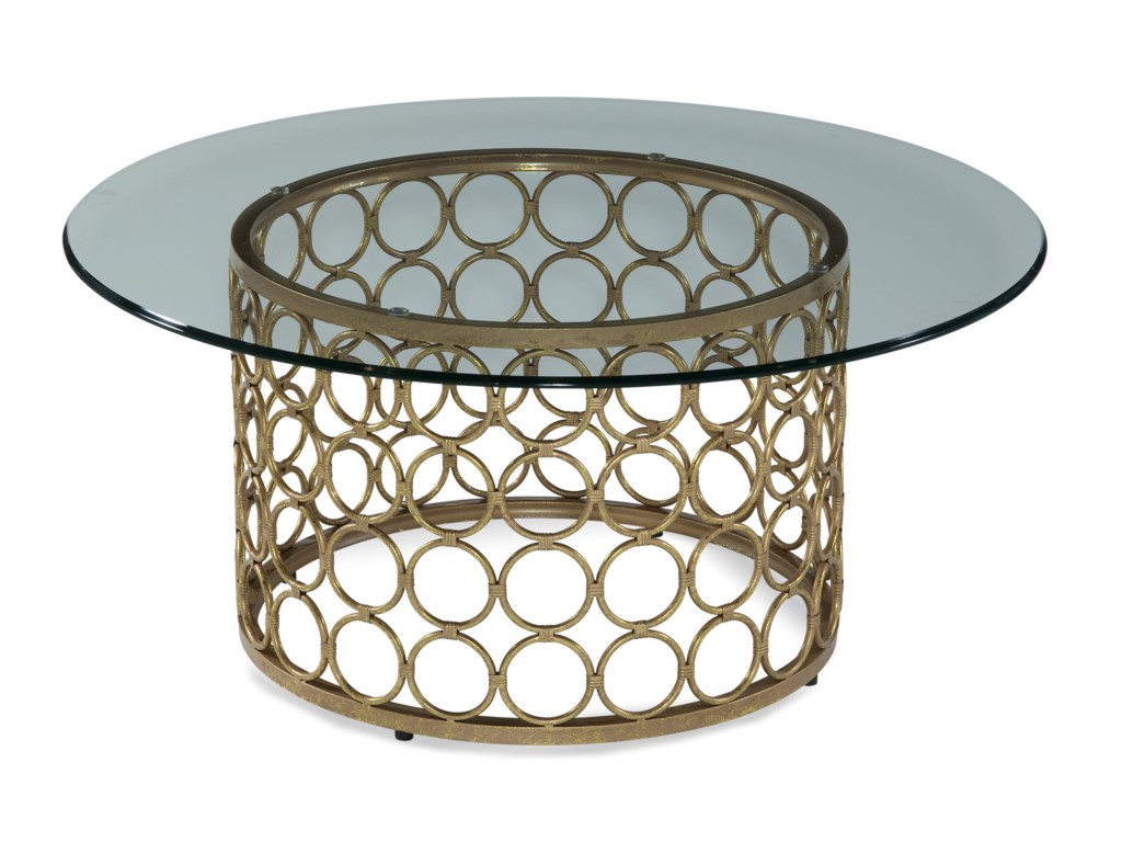 Bassett Mirror Thoroughly ModernCarnaby Round Cocktail Table