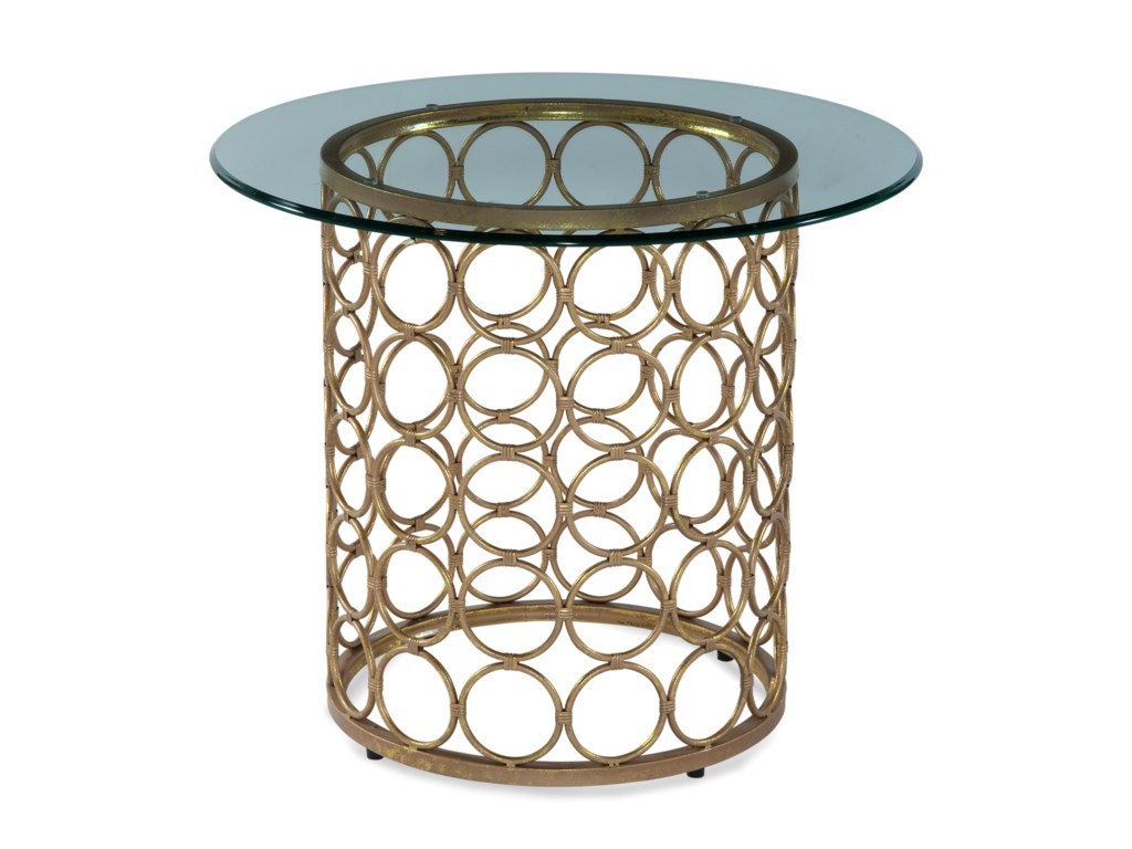 Bassett Mirror Thoroughly ModernCarnaby Round End Table