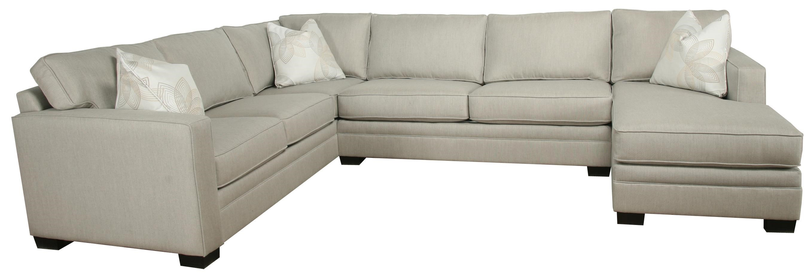 Bauhaus B13 Contemporary 3-Piece Sectional with Chaise. Sunbrella fabric  sc 1 st  Pilgrim Furniture City : sunbrella sectional - Sectionals, Sofas & Couches