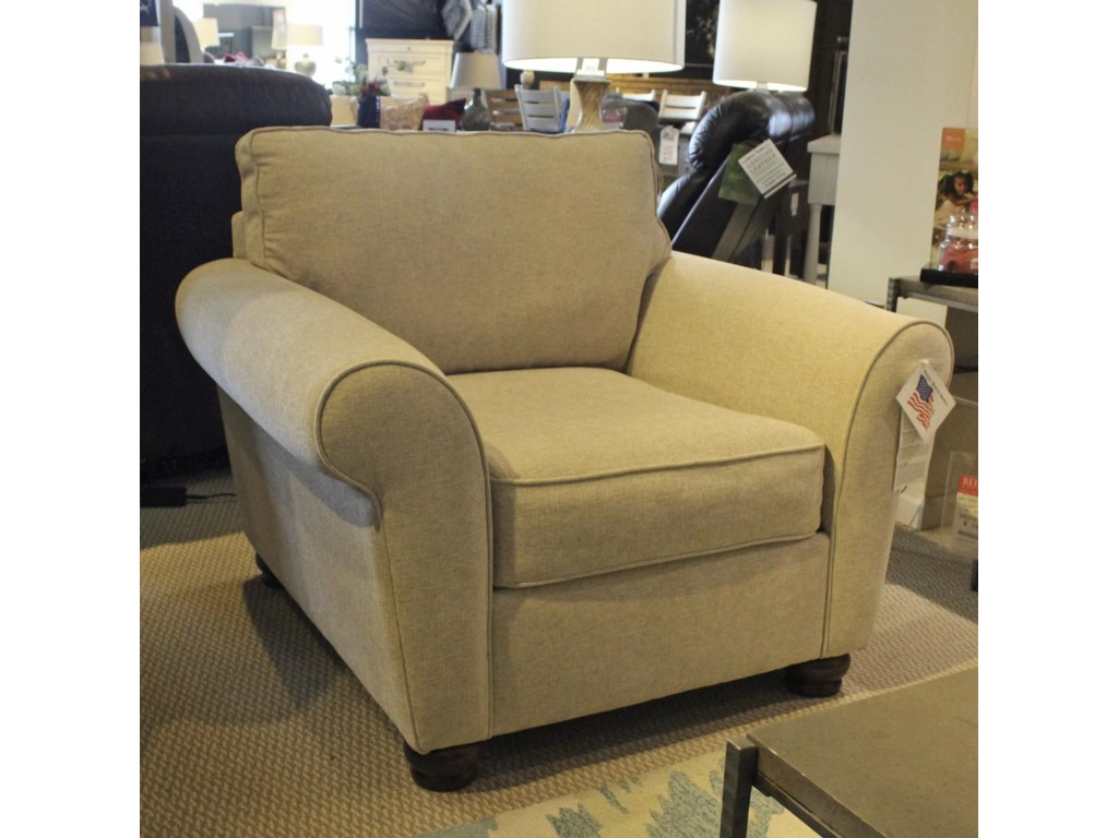 Metro Collection Transfer Upholstered Chair | Belfort Furniture ...