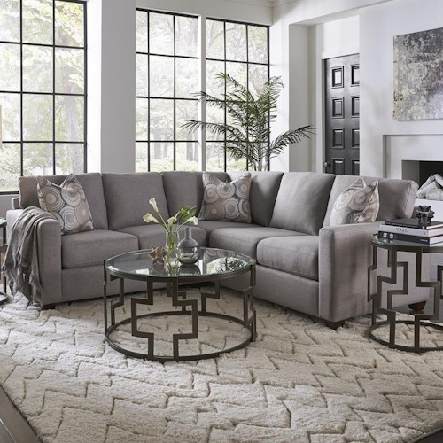 Metro Collection Simple Solutions William Sectional