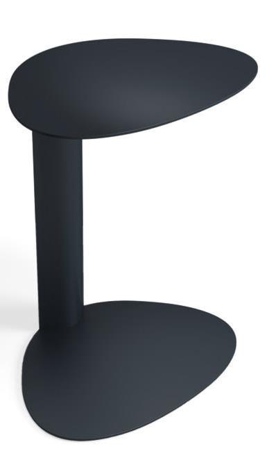 BDI Bink Sleek IndoorOutdoor Black Mobile Media Table Novello - Bink mobile media table