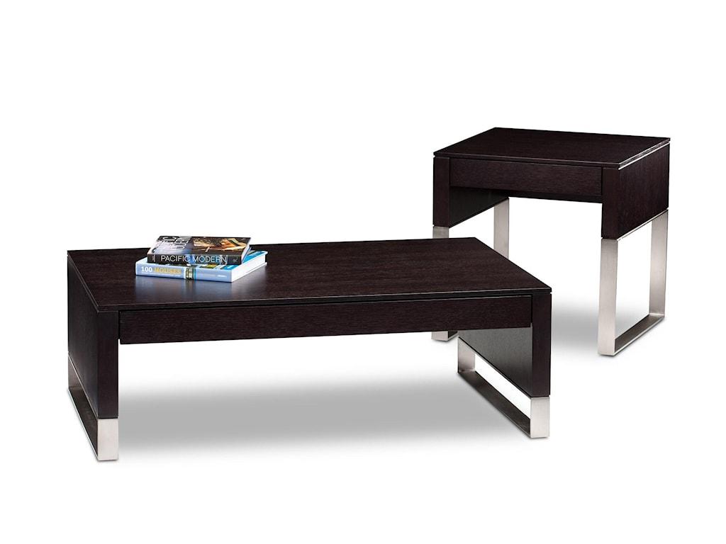 BDI CascadiaCocktail Table