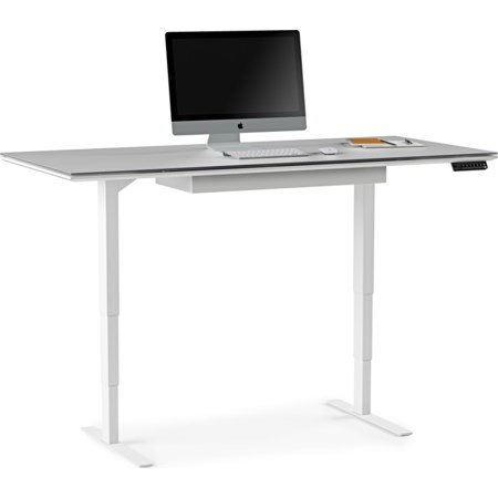 Lift Standing Desk with Storage Drawer